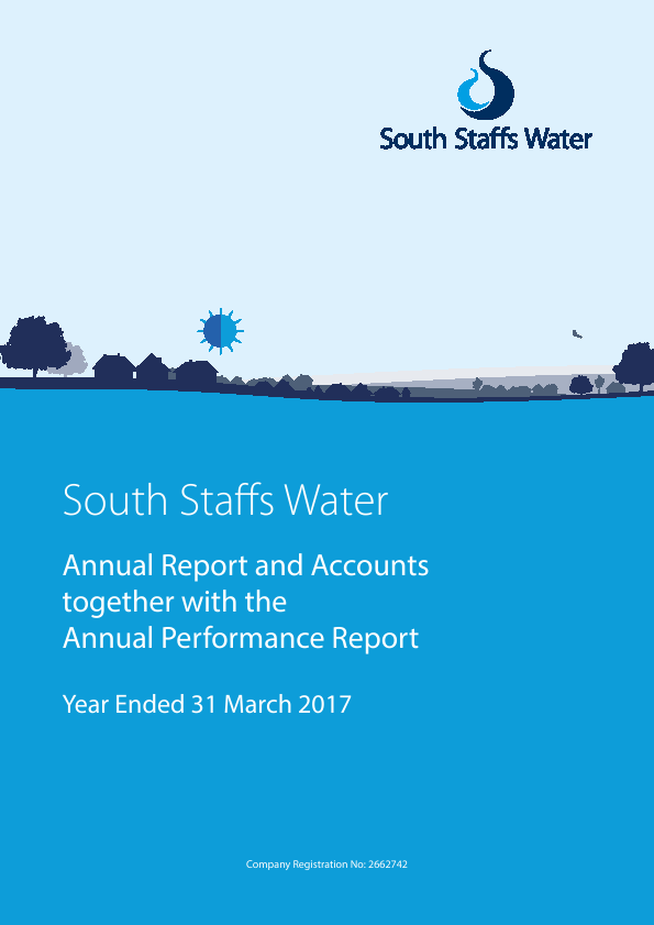 Cambridge Water   annual report