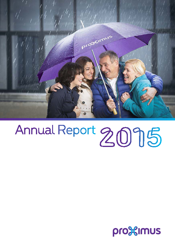 Proximus   annual report