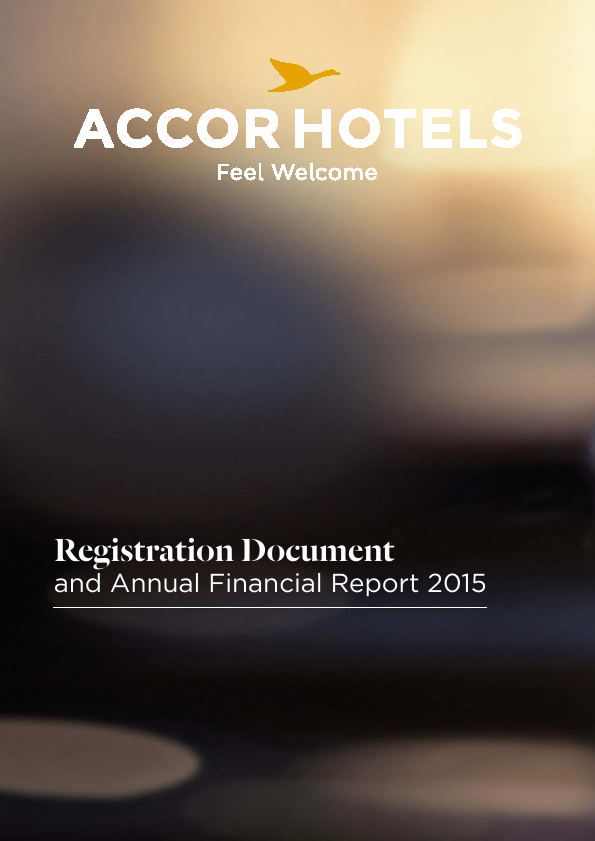 Accor   annual report