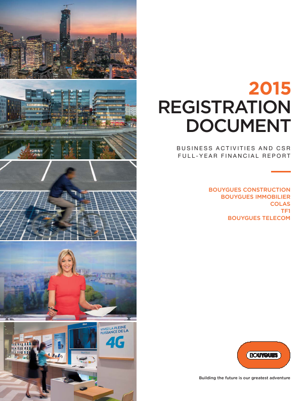 Bouygues   annual report