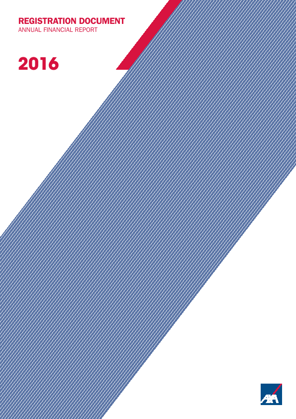 AXA   annual report