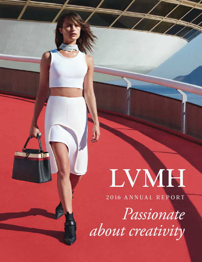 LVMH Moet Hennessy Louis Vuitton   annual report