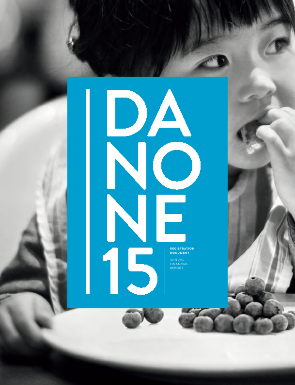 Danone   annual report