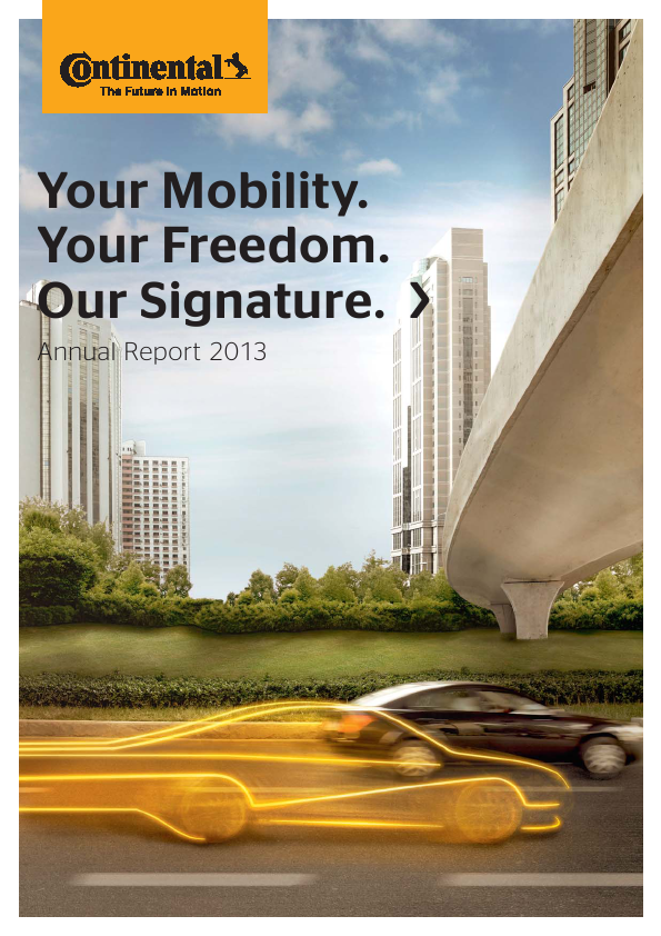Continental   annual report