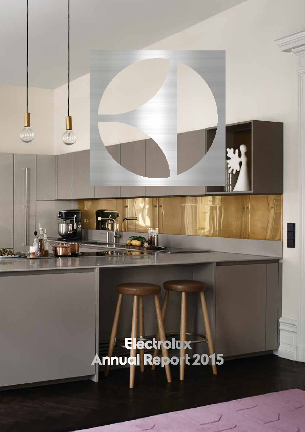 Electrolux   annual report