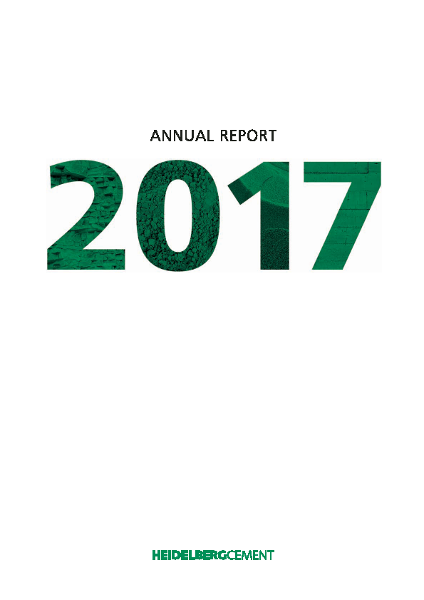 HeidelbergCement   annual report