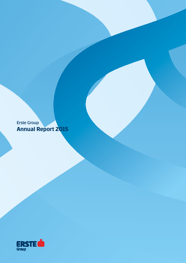 Erste Group Bank   annual report