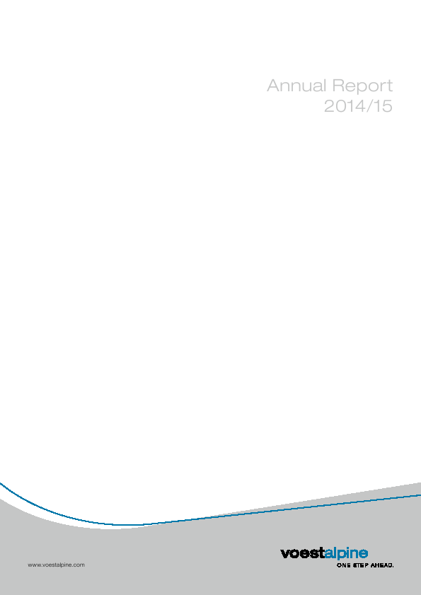 Voestalpine   annual report