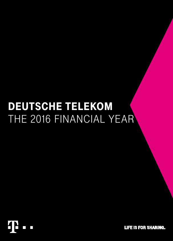 Deutsche Telekom   annual report