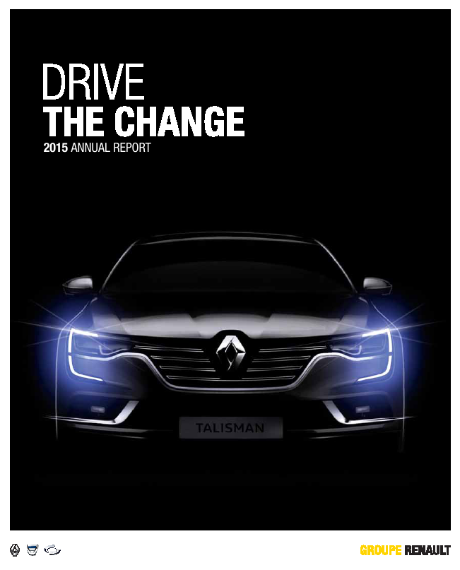 Renault   annual report