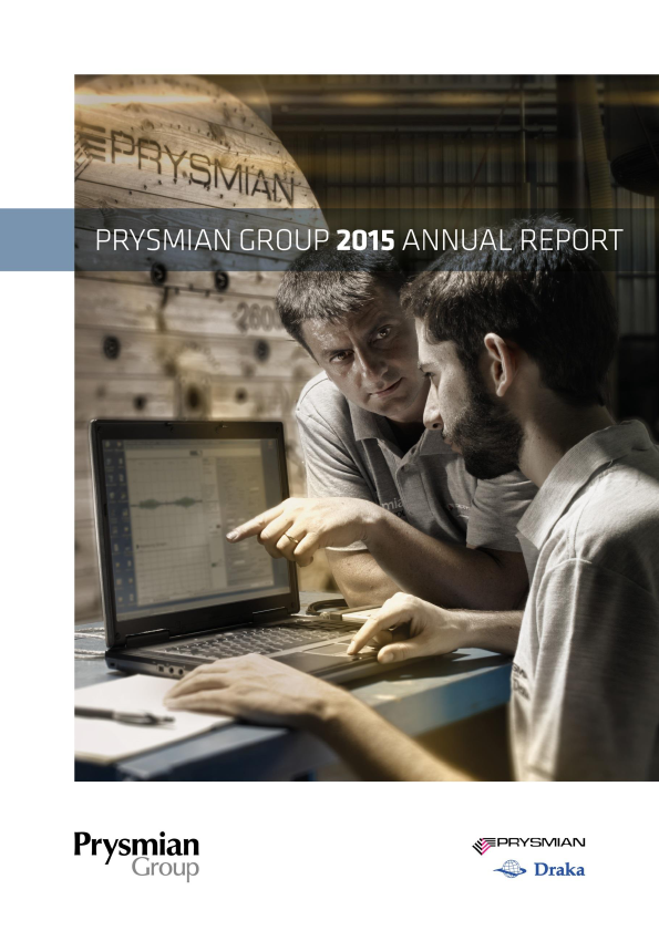 Prysmian   annual report