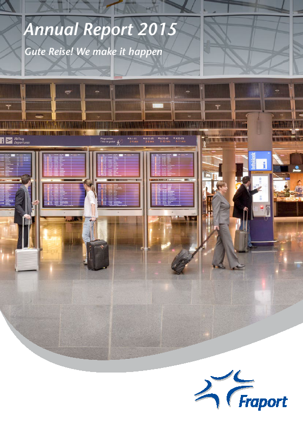 Fraport Frankfurt Airport Services   annual report