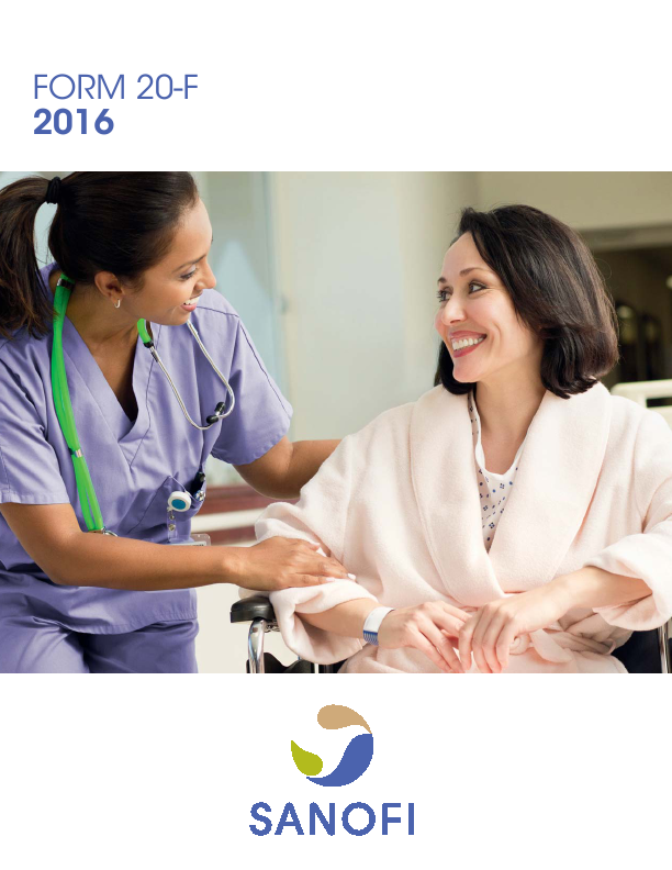 Sanofi   annual report