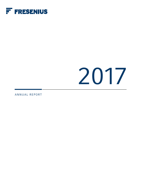 Fresenius   annual report