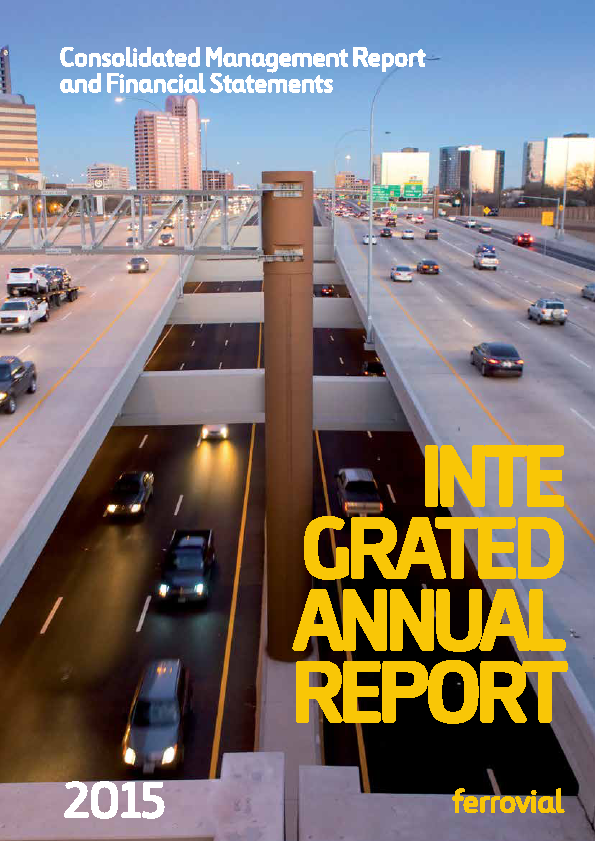 Ferrovial   annual report
