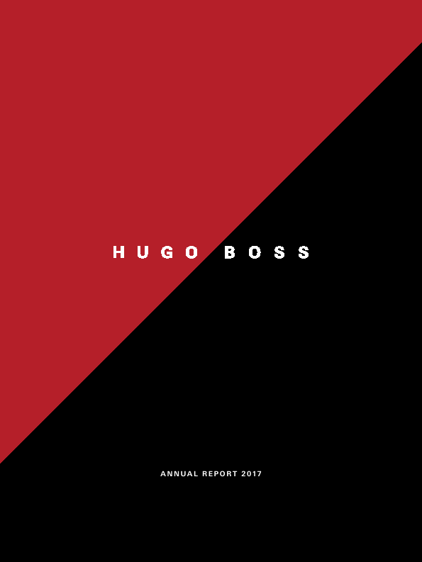 Hugo Boss   annual report