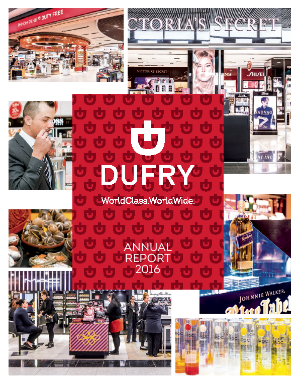 Dufry   annual report