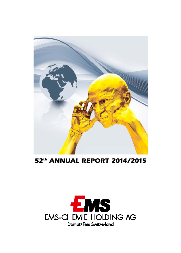 Ems-Chemie   annual report