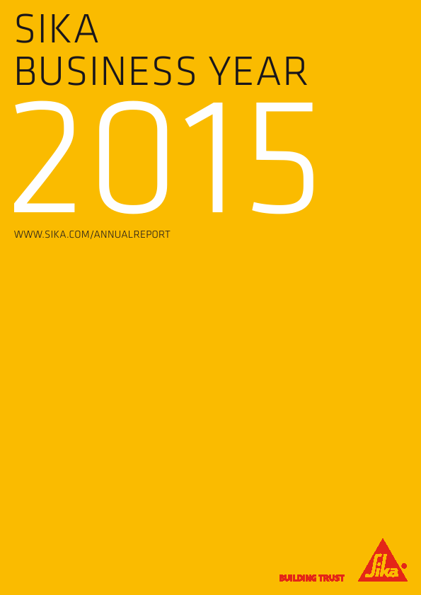 Sika   annual report