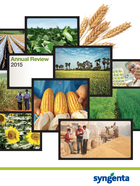 Syngenta   annual report