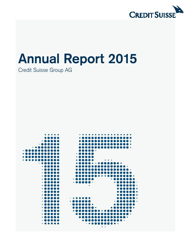 Credit Suisse Group   annual report