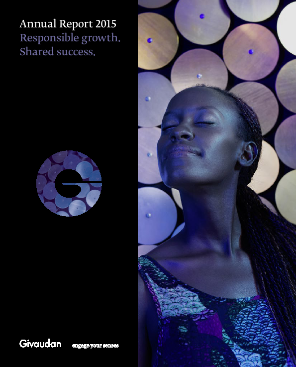 Givaudan   annual report