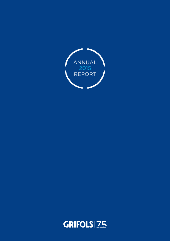 Grifols   annual report