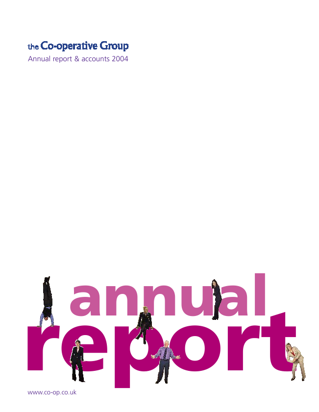 Co-operative Group   annual report