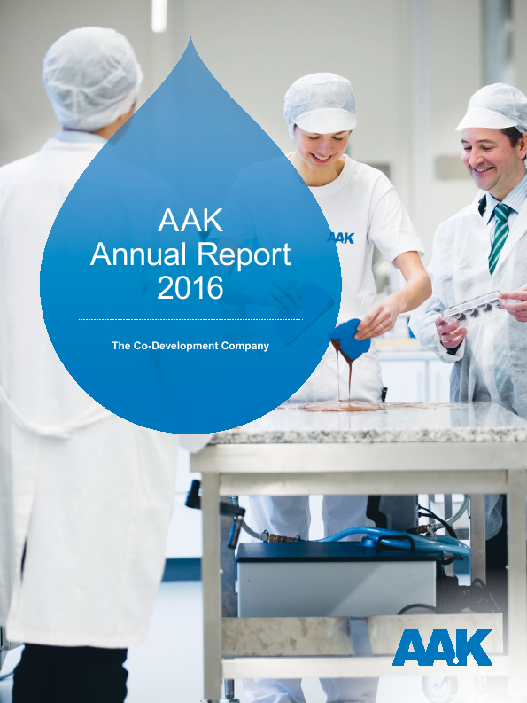 AAK   annual report