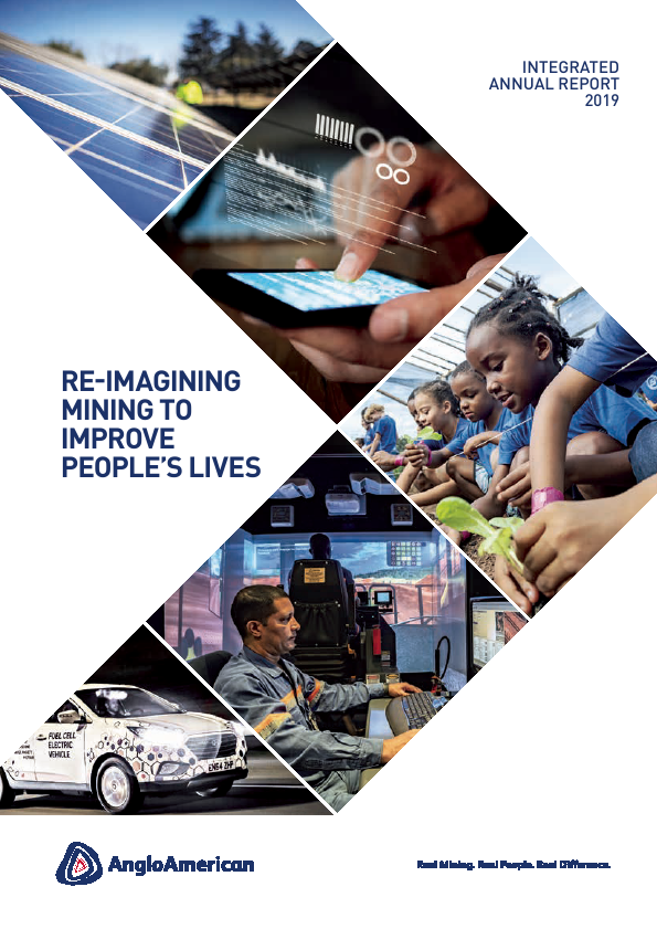 Anglo American   annual report