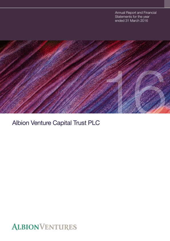 Albion Venture Capital Trust Plc   annual report