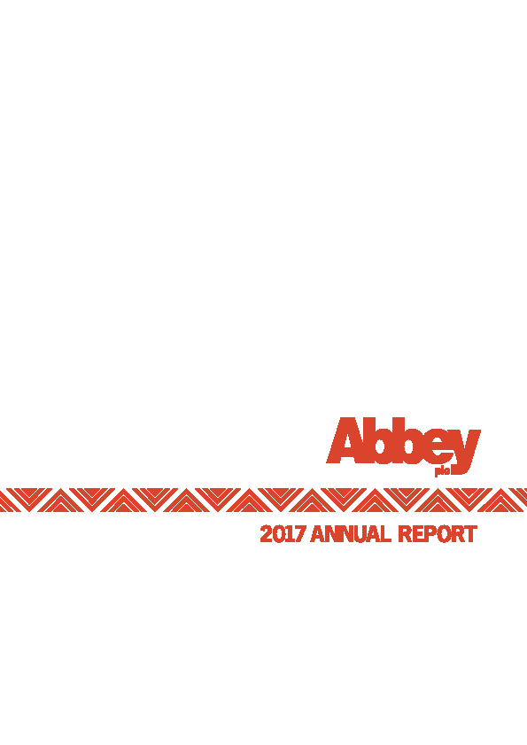 Abbey Plc   annual report