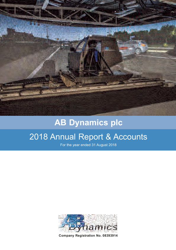 AB Dynamics Plc   annual report