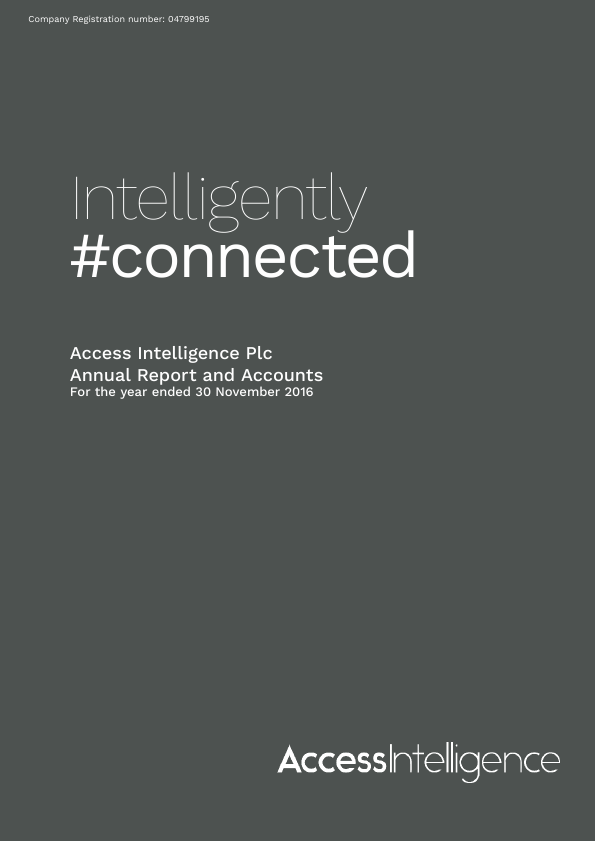 Access Intelligence   annual report