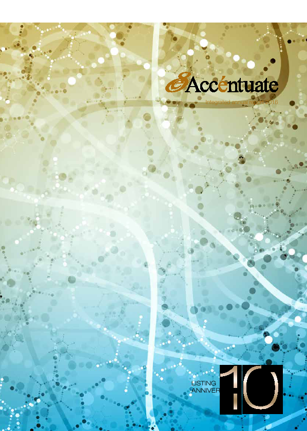 Accentuate Limited   annual report