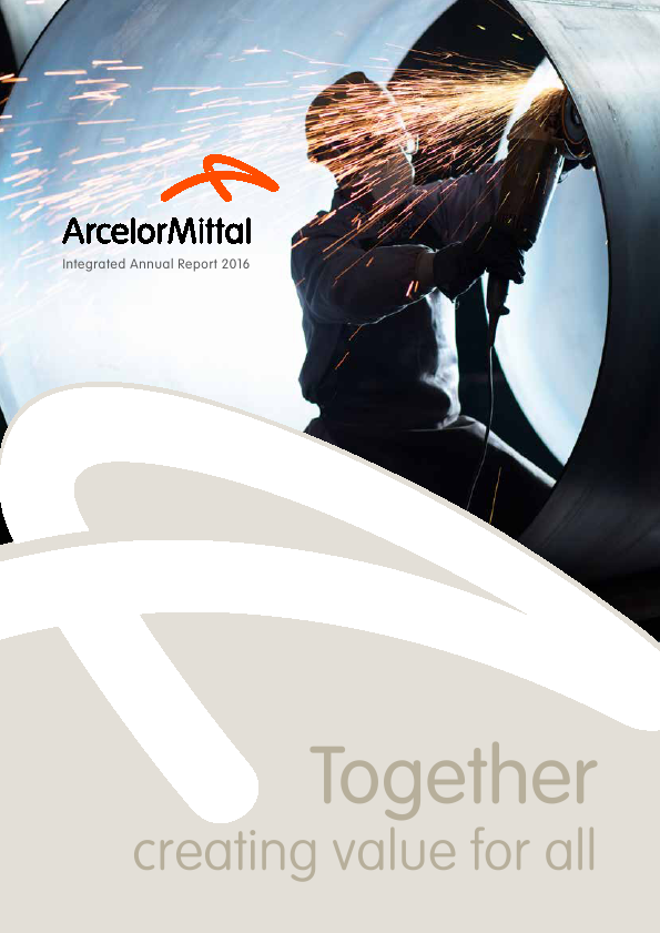 Arcelormittal South Africa   annual report