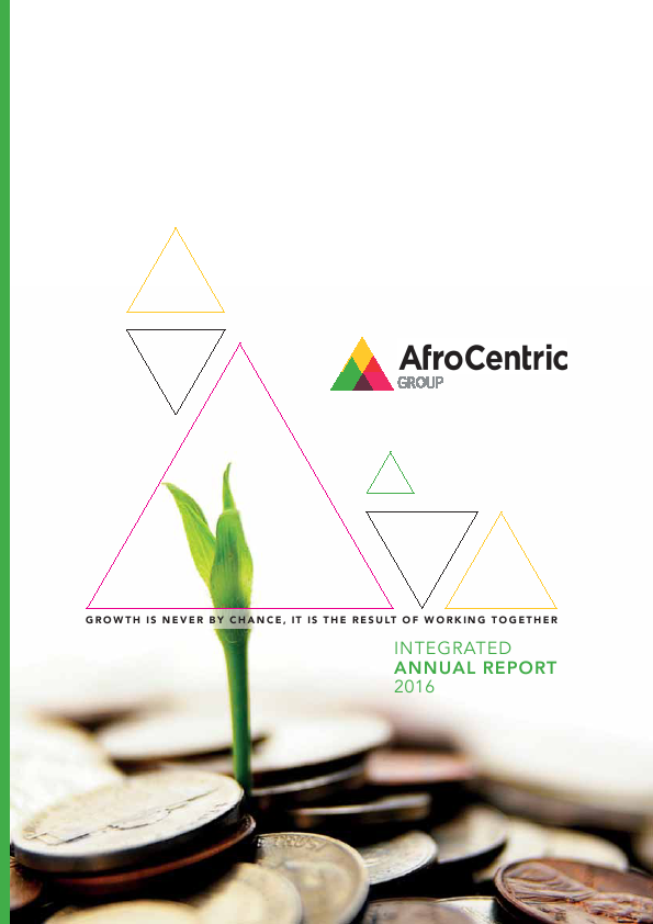AfroCentric Investment Corp   annual report