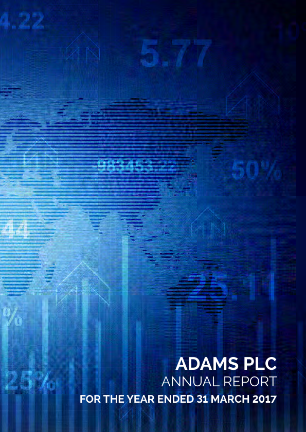Adams Plc   annual report