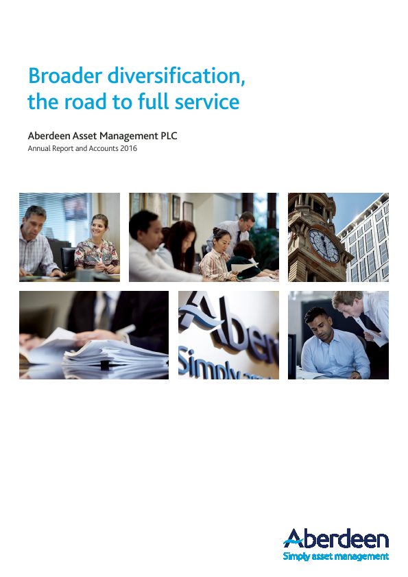 Aberdeen Asset Management Plc   annual report