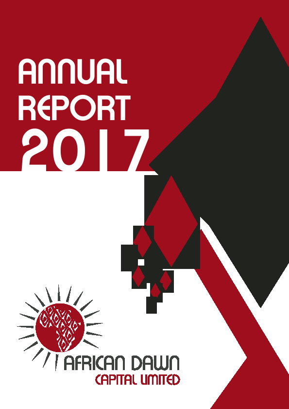 African Dawn Capital   annual report