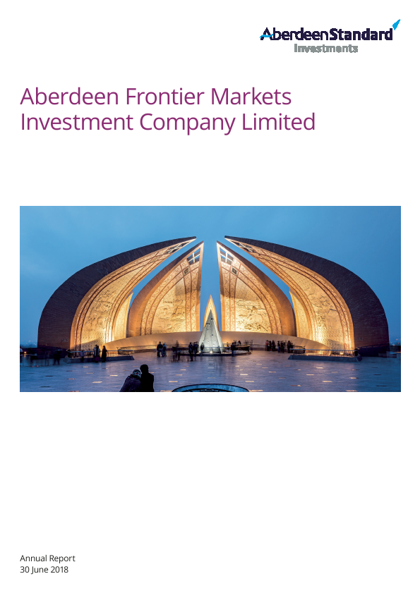 Aberdeen Frontier Markets Investment Company (Previously Advance Frontier Markets Fund)   annual report