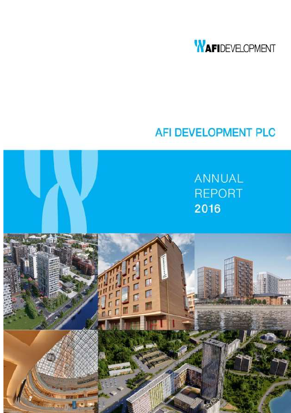 AFI Development Plc   annual report