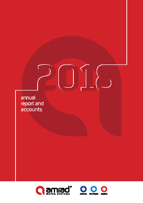 Amiad Water Systems   annual report
