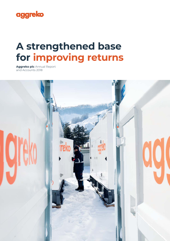 Aggreko   annual report