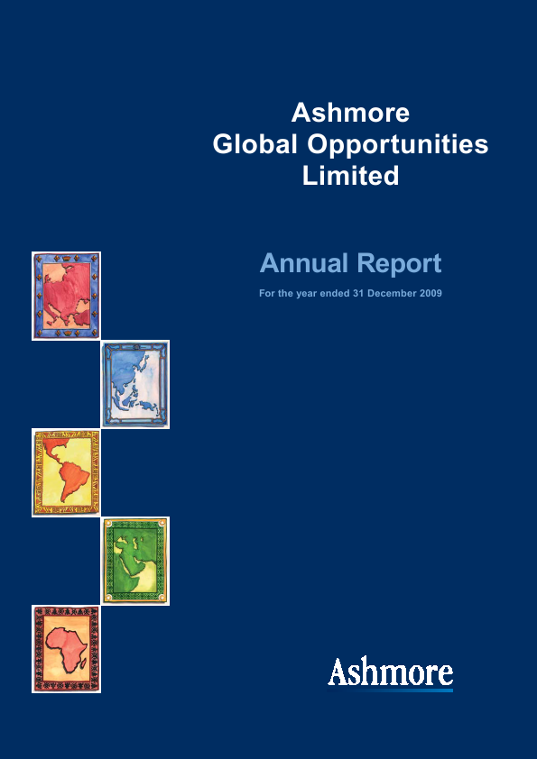 Ashmore Global Opportunities   annual report