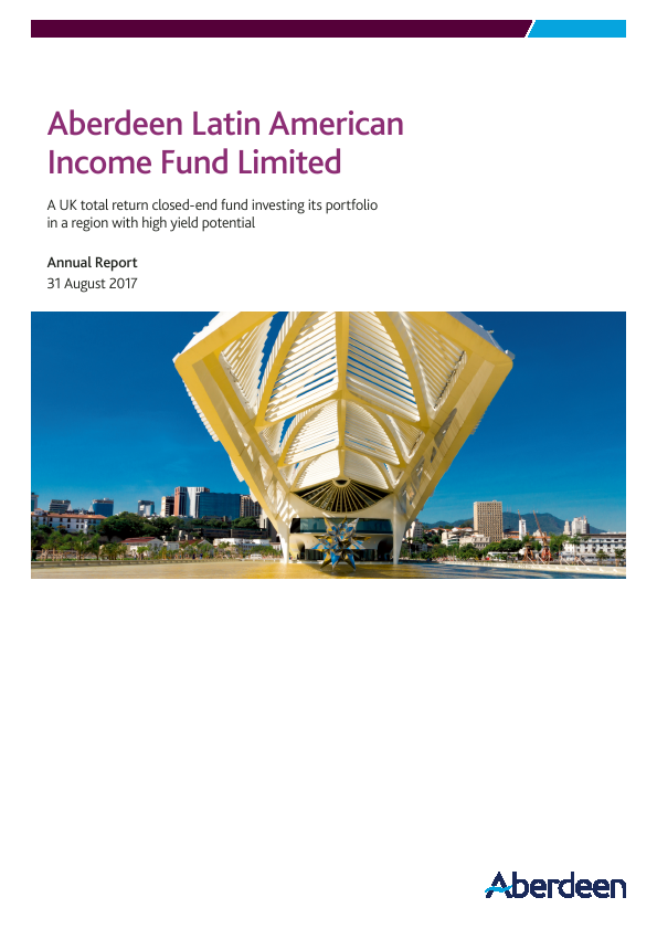 Aberdeen Latin American Income Fund   annual report