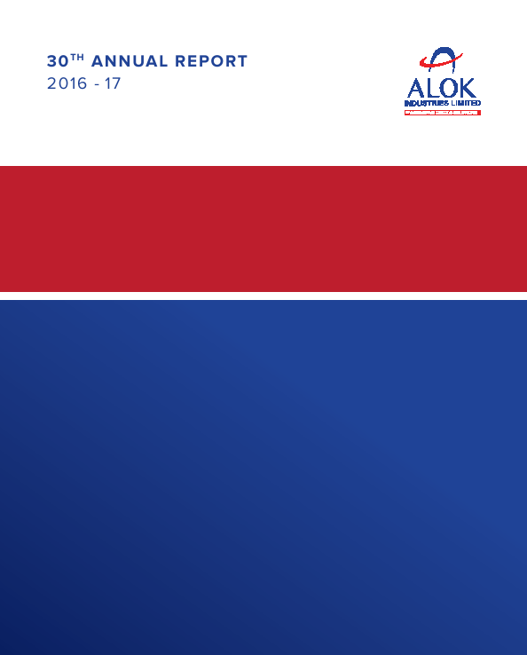 Alok Industries   annual report