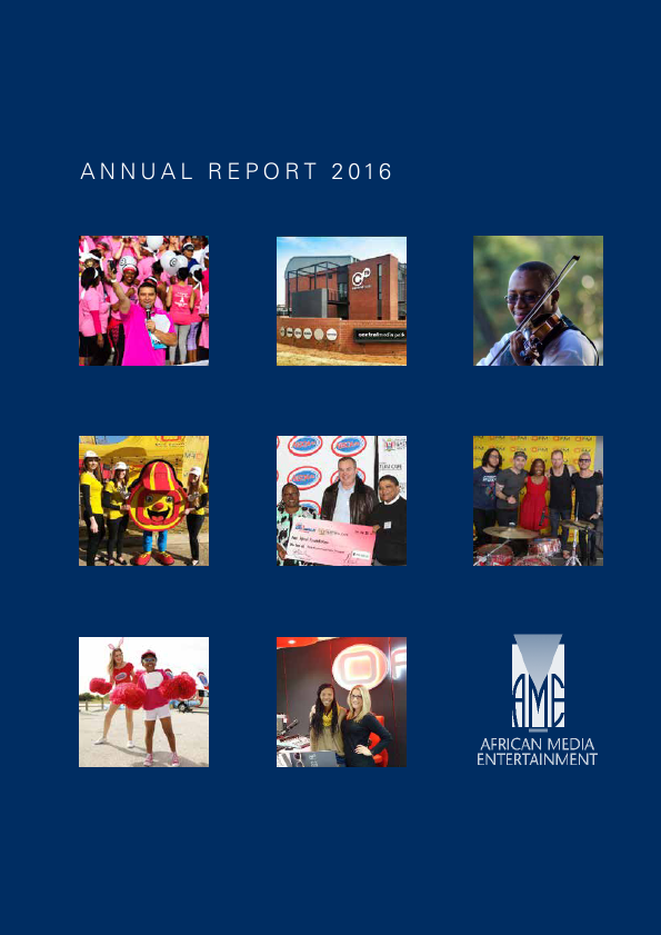 African Media Entertainment   annual report