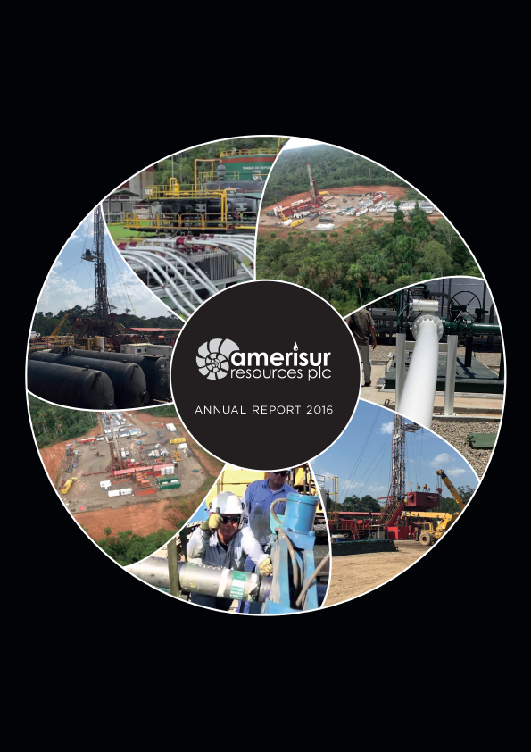 Amerisur Resources Plc   annual report