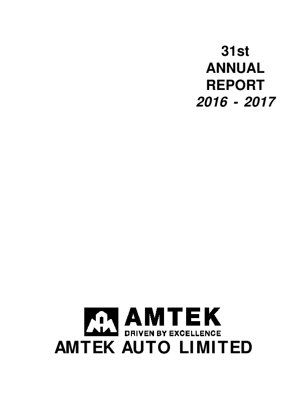 Amtek Auto   annual report